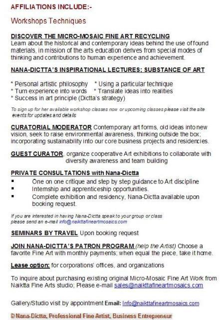 Dictta's Fine Naiktta Art Fine Dictta's Fine Naiktta Naiktta Brochure Art Brochure nk08wOP